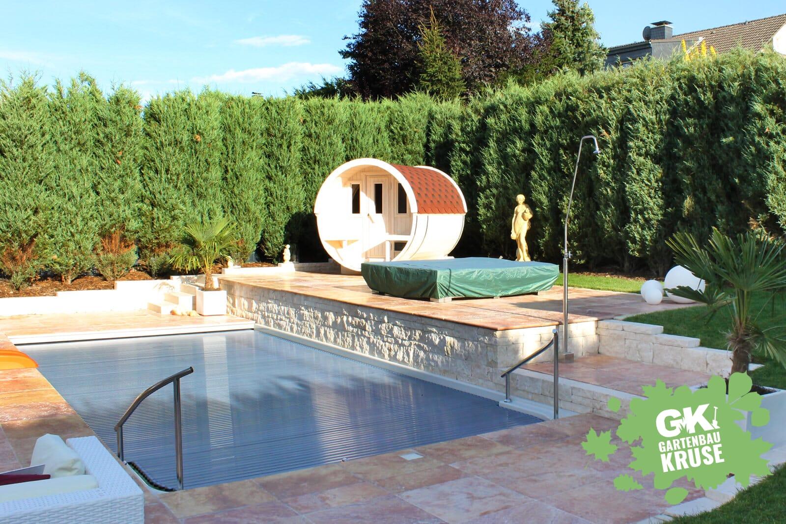Poolbau Schwimmbadbau Gartenbaukruse De Polyester Gfk Beton