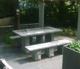 Landesgartenschau 2017 - Der 45 Grad Garten: Sitzbereich