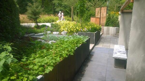 45 Grad Garten