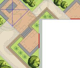 Landesgartenschau 2017 - Der 45 Grad Garten: Grundriss, Plan, Planung
